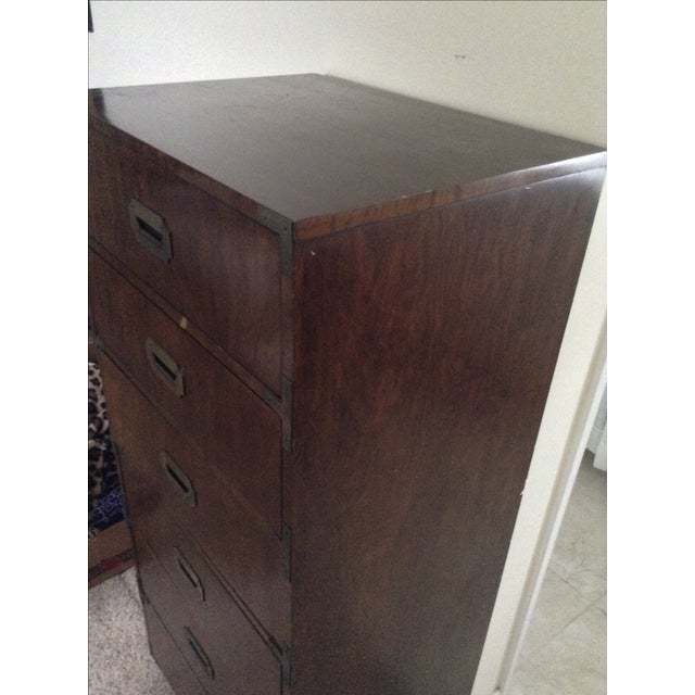 Image of Dixie Campaign Wooden Dresser