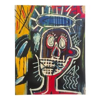 """Jean Michel Basquiat"" Vintage 1996 Whitney Museum Retrospective Exhibition Collector's Art Book"