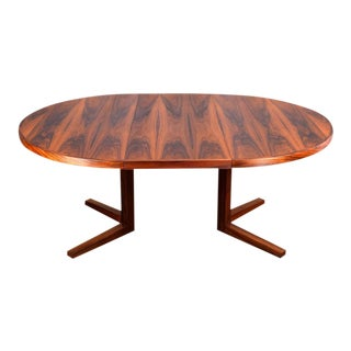 John Mortensen for Heltborg Møbler Brazilian Rosewood Dining Table