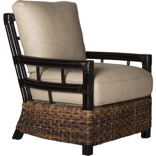 David Francis Abaca Lounge Chair