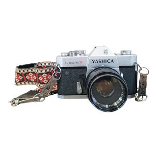 Vintage Yashica Camera with Strap