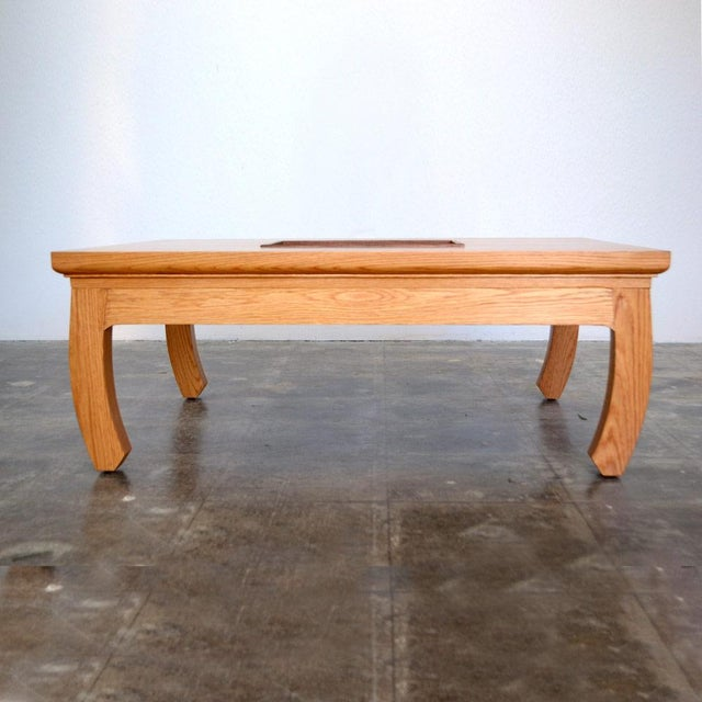 Solid Oak Mandarin Cocktail Table - Image 2 of 4
