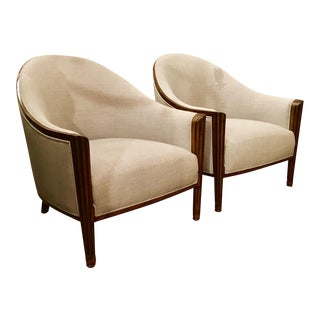Pair of John Richards' Art Deco Style Chairs