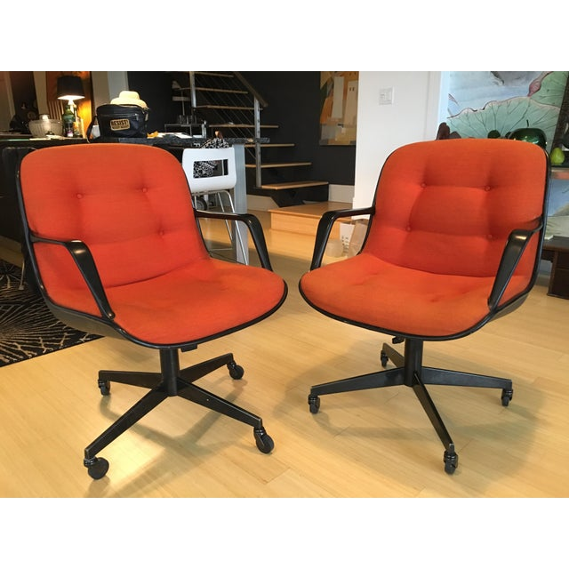 "Steelcase Rolling ""Pollack"" Swivel Office Chairs - Image 2 of 11"