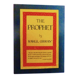 "Kahlil Gibran ""The Prophet"" Deluxe Edition Book"