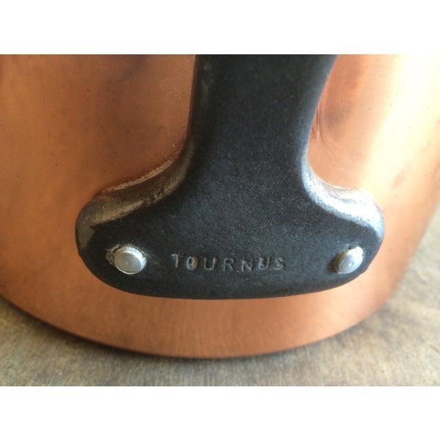 1960's Vintage French Copper Pot Set - 5 Pcs - Image 6 of 7