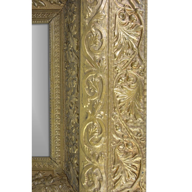 European Gilded Accent Mirror - Image 6 of 6