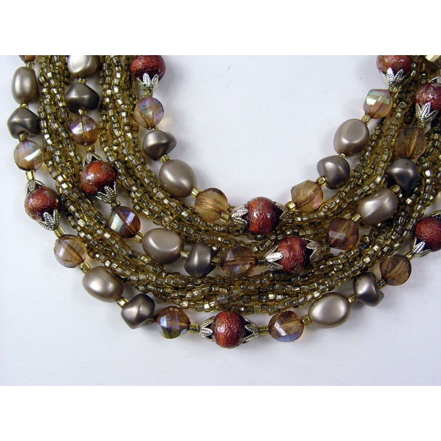 Image of Vintage Hollywood Glamour Champagne Necklace