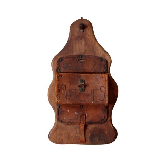 Image of Vintage Match Holder