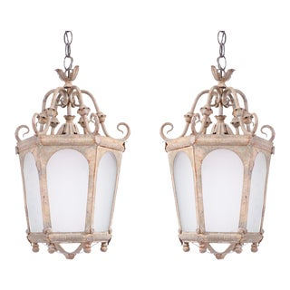 Late 19th Century French Lanterns - A Pair