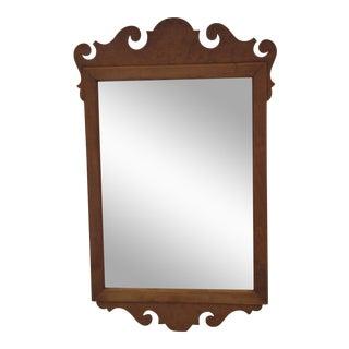 Vintage Burlwood Mirror