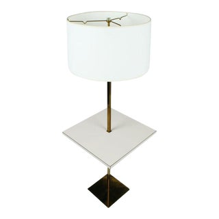 Stewart Ross James Polished Brass Table Floor Lamp