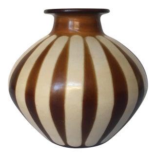 Signed Peruvian Vase