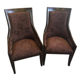Bernhardt Upholstered Chairs - A Pair