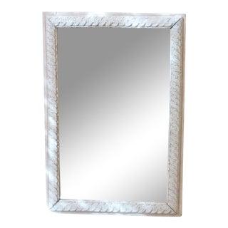 French Guilloche Mirror