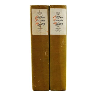 Courtiers and Favourites of Royalty, Memoirs of Talleyrand 2 Volumes
