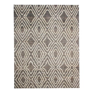 "Aara Rugs Inc. Hand Knotted Navajo Rug - 7'10"" X 10'"
