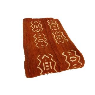 African Chocolate & Ivory Mud Cloth Textile Mali