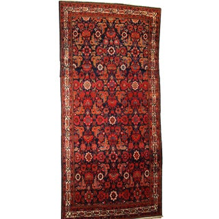 1920s Hand Made Antique Persian Malayer Runner - 5′6″ × 11′7″