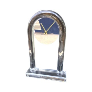 Vintage Modern Dorothy Thorpe Style Lucite Clock