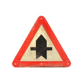 European Crossroads Street Signs - A Pair