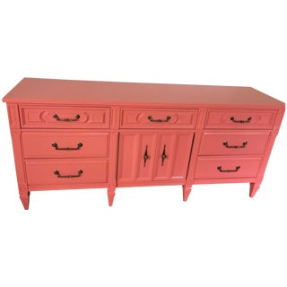 Coral Lacquered Buffet