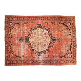 Antique Farahan Sarouk Carpet - 7' x 10'