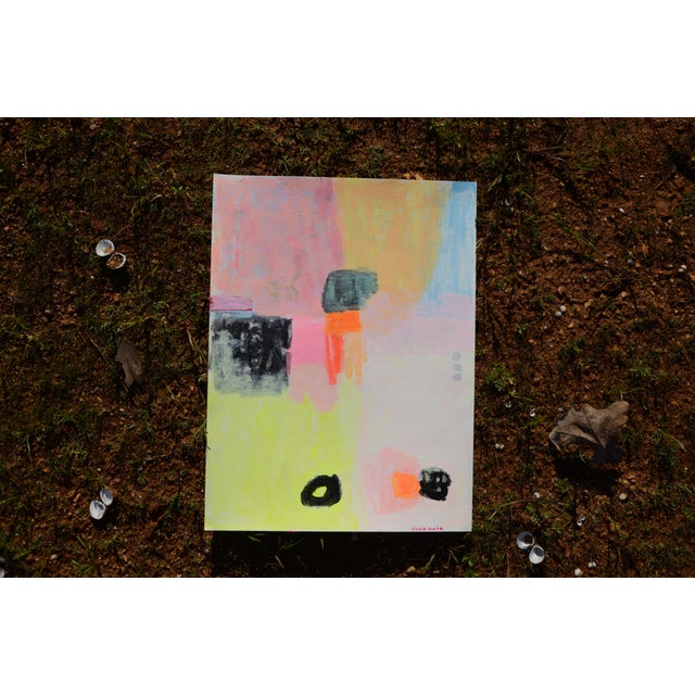 """Susie Kate """"Meditation"""" Original Abstract Painting - Image 3 of 3"""
