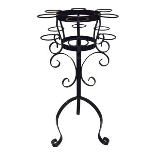 Wrought Iron Champagne Stand