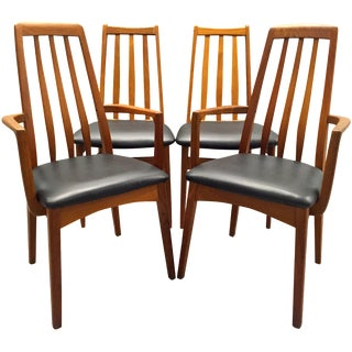 Svegards Marka Teak Dining Chairs - Set of 4