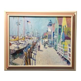 Ramon Moscardo Fernandez- Marina Del Rey Santa Monica,CA -Oil Painting