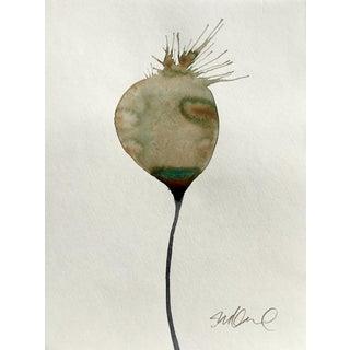 'Botanical Bulb' Watercolor Painting