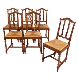 Flemish Baroque Style Dining Chairs - Set of 6