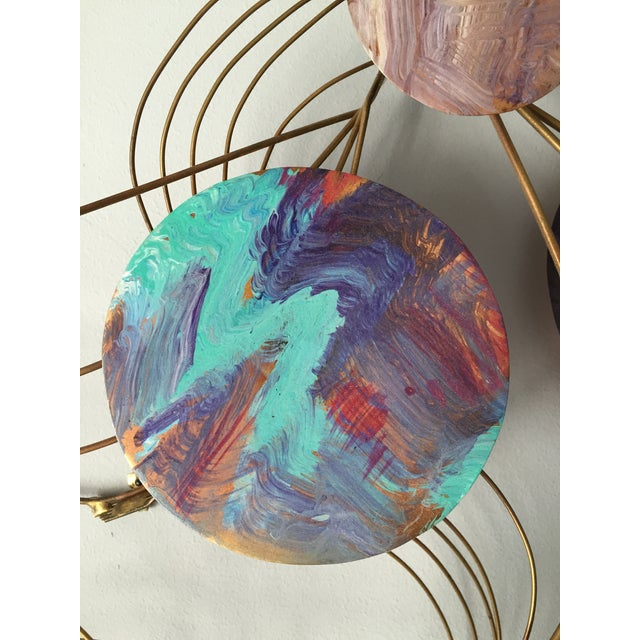 Image of Mid-Century Copper Wall Sculpture