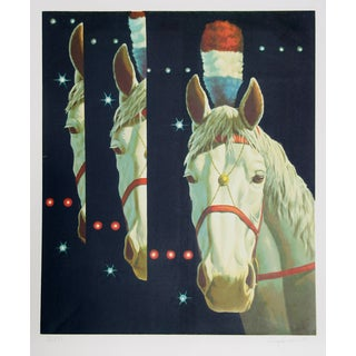 "Arne Besser, ""Circus Triad,"" Serigraph"