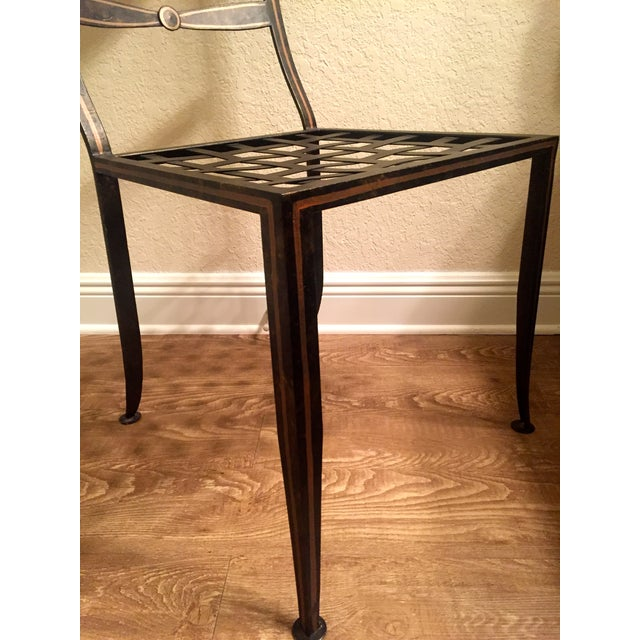 Designer Metal Accent Chair - Image 11 of 11