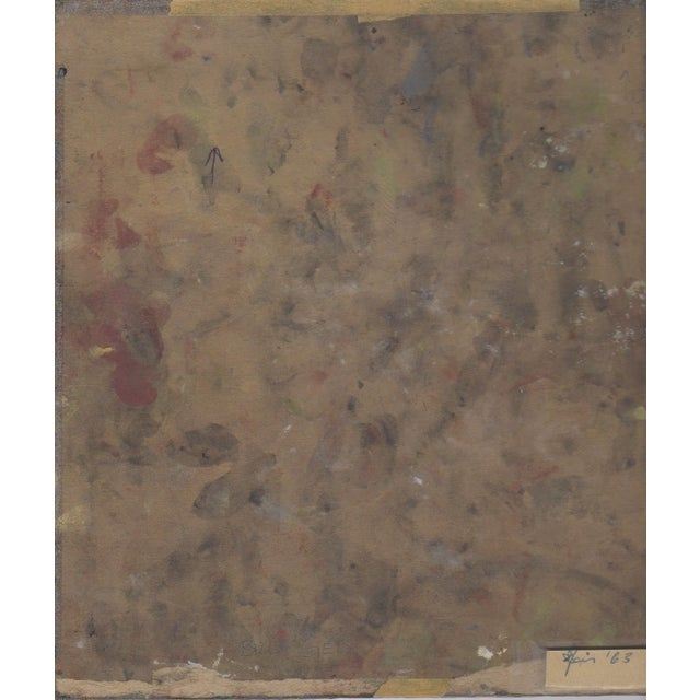 Image of Vintage Bill Geiss Color Abstract c.1963