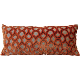 Orange Cowtan Tout Astrid Pillow