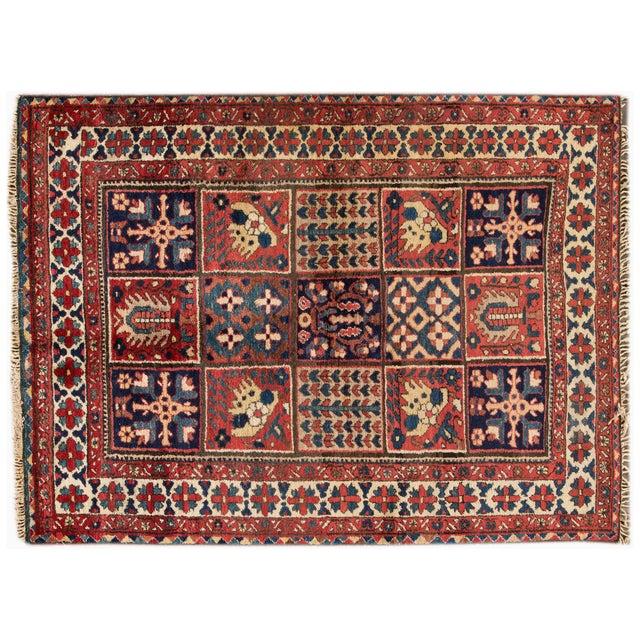 """Image of Vintage Apadana Persian Rug - 4'10"""" X 6'7"""""""