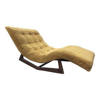 Adrian Pearsall Style Rocking Wave Chaise Lounge