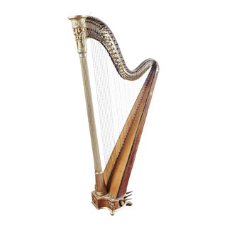 1811 French Sébastien Érard Concert Harp