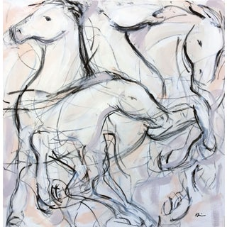 """Horse Fair I"" Painting"