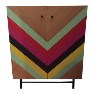 CB2 Modern Storage Unit Console