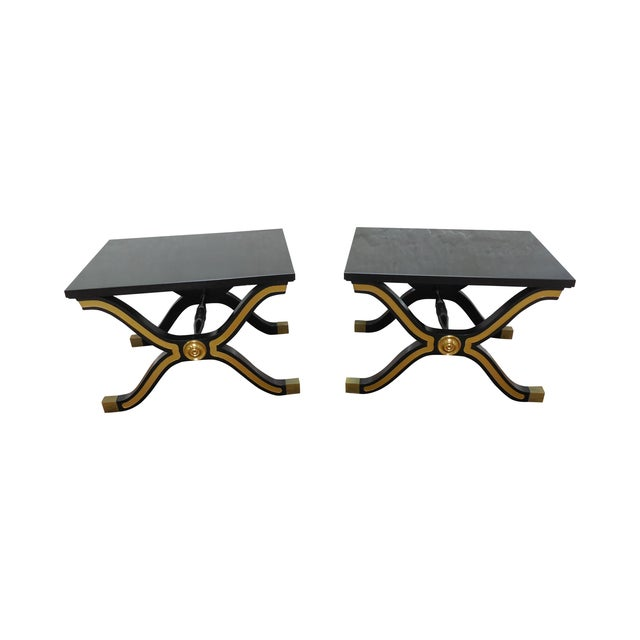 Heritage Dorothy Draper Hollywood Regency Tables - Image 1 of 10