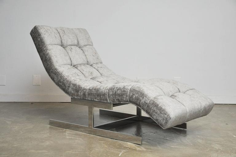 Milo Baughman Wave Chaise - Image 3 of 7  sc 1 st  DECASO : wave chaise - Sectionals, Sofas & Couches
