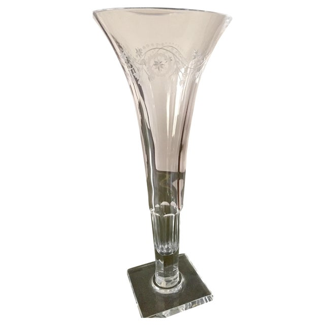 Vaughan Decorative Fluted Vase - Image 1 of 4