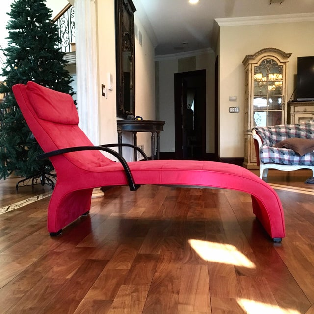 Dania Red Giselle Lounge Chaise - Image 2 of 4