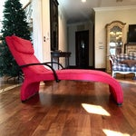 Image of Dania Red Giselle Lounge Chaise