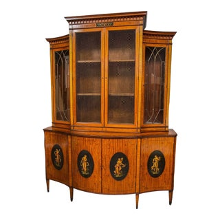 Edwardian Adams-Style Bookcase
