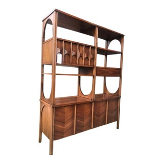 Mid-Century Sculptural Wall Unit Room Divider